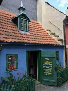 Arany utcácska háza - Prága