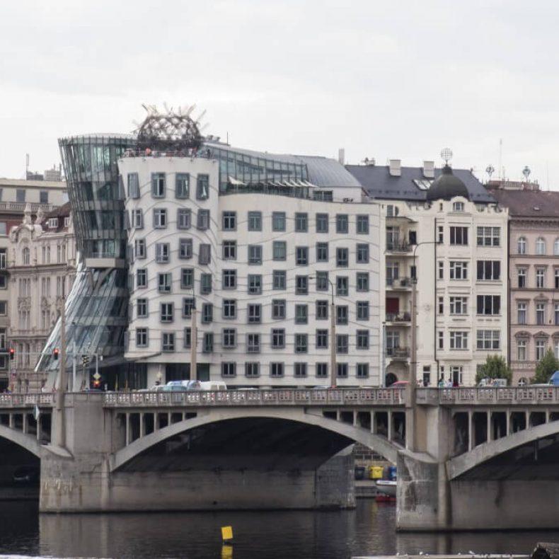 Táncoló ház Prága