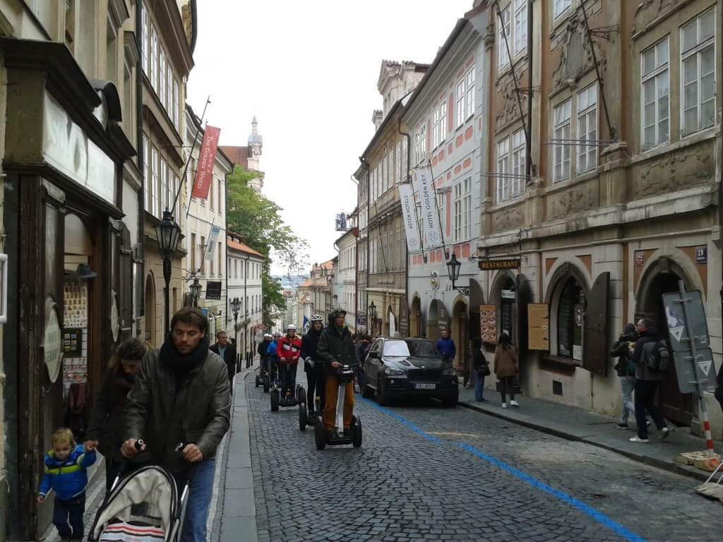 Prágai látnivalók - Kis oldal utcái