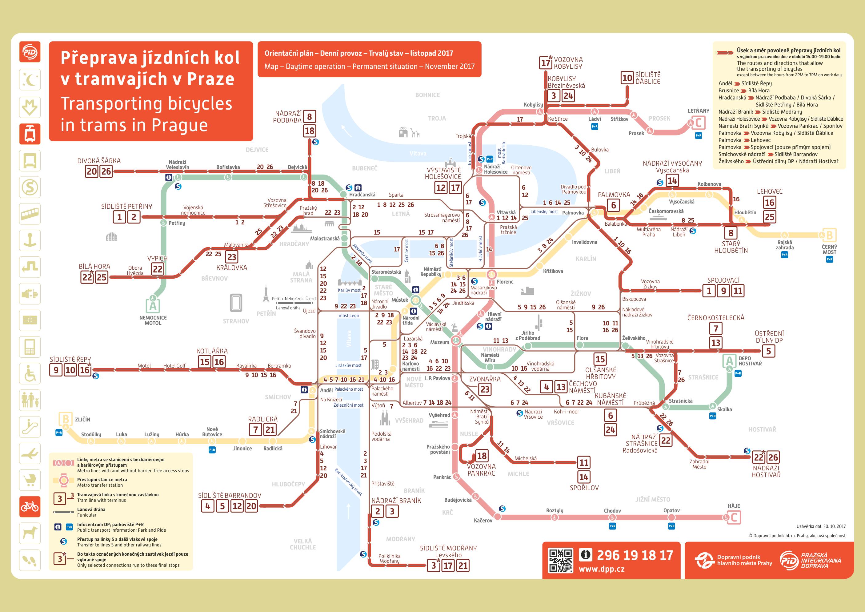 prága térkép Prágai térképek   városlátogatáshoz, utazáshoz   Prágáról minden