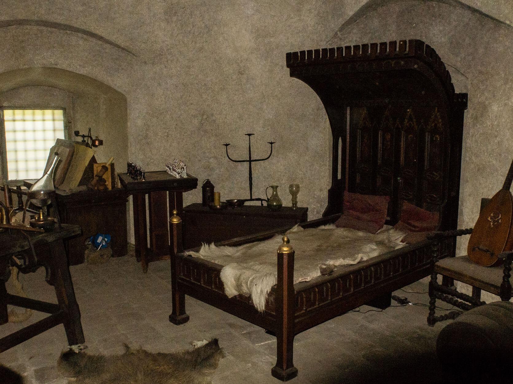 Arany utcácska, alkimista szoba