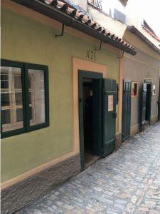 Arany utcácska házak - Prága
