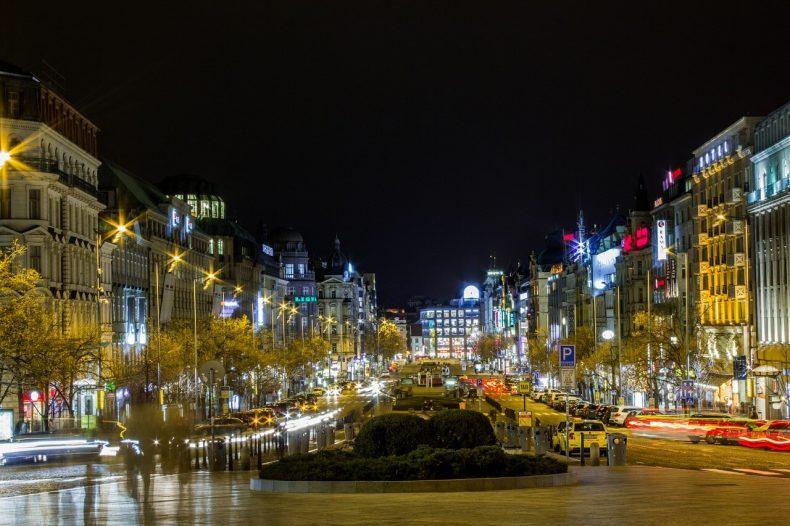 Vencel tér Prága