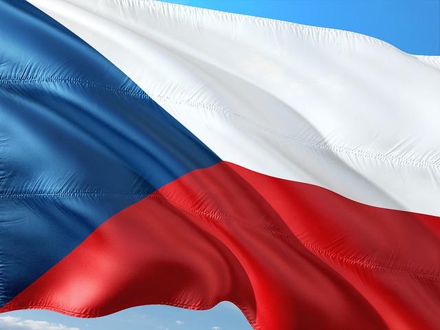 Cseh szavak, Cseh nyelv - zászló Fotó: Pixabay