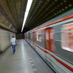 Prágai metró - Fotó: Pixabay