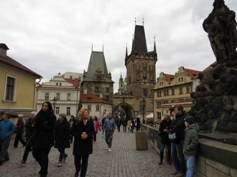 Károly híd Prága - Kisoldali hídtornyok