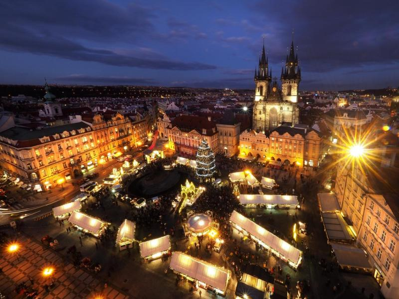 Prágai karácsonyi vásár, adventi vásár 2019 - Óvárosi téren