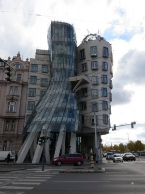 Táncoló ház - Prága
